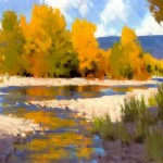 Stephen Datz, Autumn Sunshine | Oil Plein-Air Painter