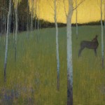 David Grossmann, Midsummer Dusk, oil, 18 x 24.