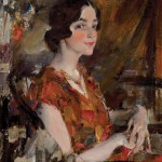 Nicolai Fechin, Portrait of Kate oil, 30 x 25, Heritage Auction.