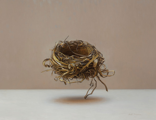 Scott Fraser, Floating Nest, oil, 18 x 23.