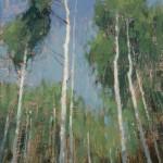David Grossmann, So Tall, oil, 12 x 7.