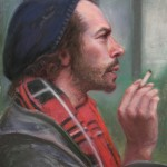 John Philbin Dolan, Lost, pastel, 15 x 12.