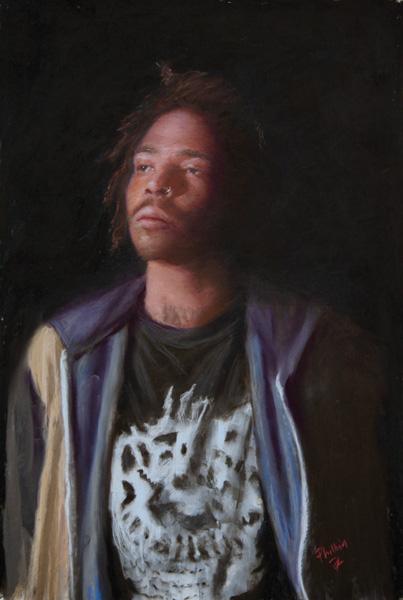 John Philbin Dolan, Nolan, pastel, 17 x 12.