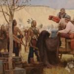 Z.S. Liang, Joe Kipp, Trader, Missouri River, 1879, oil, 44 x 68.