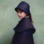 Jeremy Lipking, Turquoise and Blue, oil, 22 x 17.