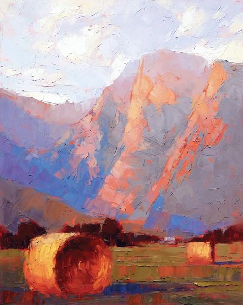 David Mensing, Compelling, oil, 30 x 24.