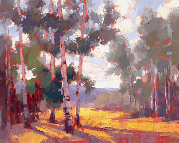 David Mensing, It Is Beauty, It Is Delight, oil, 24 x 30.David Mensing, It Is Beauty, It Is Delight, oil, 24 x 30.
