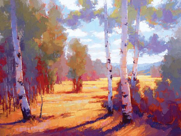 David Mensing, Remember, oil, 36 x 48.