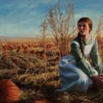 Jeremy Manyik, Fall Gathering, oil, 24 x 36.