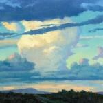Lee MacLeod, Southern Skies, oil, 11 x 14.