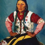 Santa Fe Art Auction, Robert Henri, Portrait of Po Tse (Water Eagle), oil, 42 x 33. Sold: $2.2 million