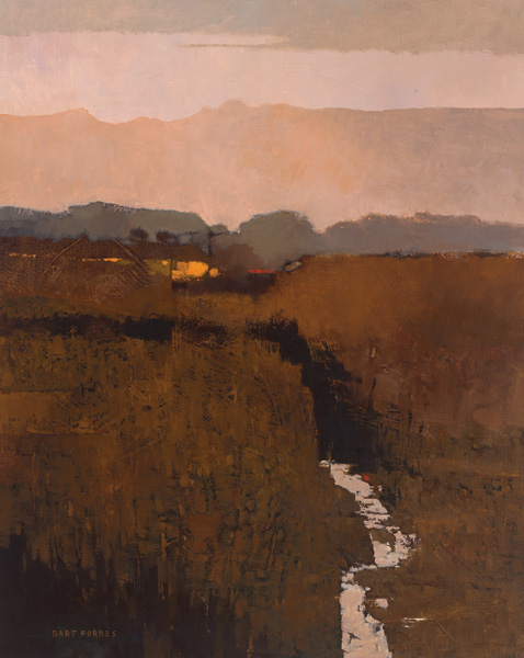 Bart Forbes, Hallowed Ground, oil, 30 x 24.