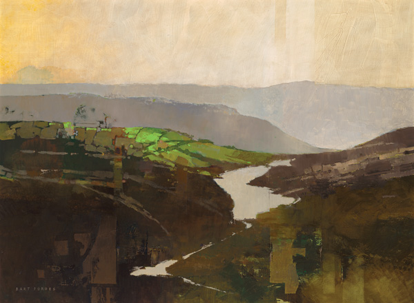 Bart Forbes, No Man's Land, oil, 27 x 36.