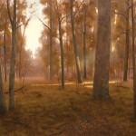Deborah Paris, Illumination, oil, 48 x 64.