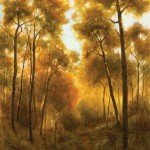 Deborah Paris, Martha's Trail, oil, 30 x 24.