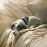 Bonnie Marris, Clean Linen, oil, 9 x 12.