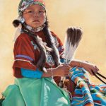 Ann Hanson, Regal, oil, 20 x 16.