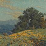 Granville Redmond, Annandale Wildflowers, oil, 25 x 30. Estimate: $250,000-350,000.