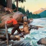 Philip R. Goodwin, Game Dispute, oil, 30 x 40. Estimate: $90,000-$120,000.