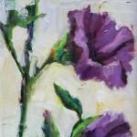 Terrie Lombardi, Little Survivor, oil, 8 x 8.