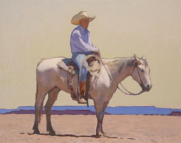 Glenn Dean, Mid Day Sun, oil, 16 x 20.