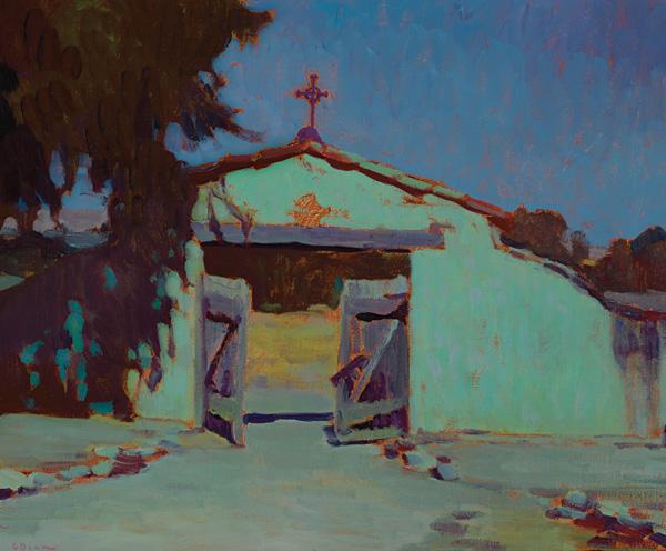 Glenn Dean, Vaya Con Dios, oil, 20 x 24.