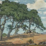 William Wendt, The Top of the Hill Near San Luis Obispo, 1926, oil, 25 x 30. Estimate: $50,000-70,000.