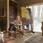 Inside McGivern's Studio