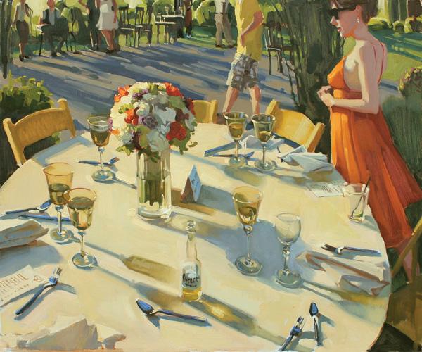 Jennifer Diehl, A Moment in Time, oil, 20 x 24.