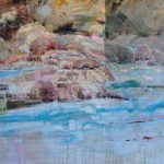 Jim Biggers, Something New, oil, 30 x 40.