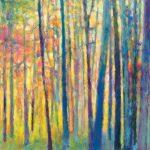 Ken Elliott, Saccades, oil, 24 x 24.