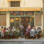 Jennifer Diehl, Le Sevigne, oil, 30 x 40.