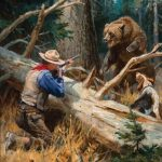 Philip R. Goodwin, Dangerous Sport, oil, 40 x 28. Estimate: $120,000-$180,000.