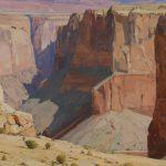 G. Russell Case, Desolation Passage, oil, 40 x 60.