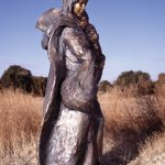 Glenna Goodacre, Crossing the Prairie, bronze, h72. Estimate: $50,000-$70,000.