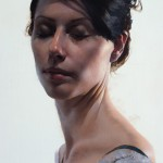 Daniel Sprick, Vanessa, oil, 26 x 18.