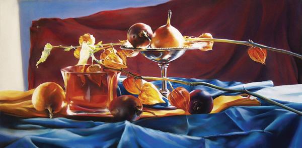 Roberta Combs, Passionate, pastel, 12 x 24.