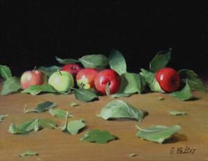 Joan Potter, Fujis, oil, 14 x 18.