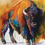 Barbara Meikle, Soul of the Prairie, oil, 48 x 36.