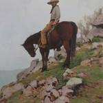 Glenn Dean, At the Overlook, oil, 40 x 32.