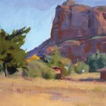 Foot of the Butte by Marcia Burtt