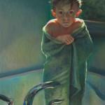 Christine Swann, Cold, pastel, 40 x 30.