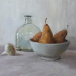 Jan Jewell, Pears, oil, 16 x 20.