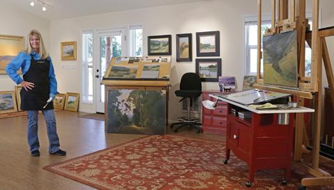 Artists' Studios | Elizabeth Tolley