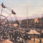 Todd A. Williams, Campbell Brothers Circus, 1905, Jefferson County, oil, 16 x 20.