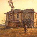 Todd A. Williams, Prairie Settlers 1893, Fillmore County, oil, 24 x 30.