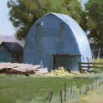 David Dibble, Bern, oil, 18 x 18.
