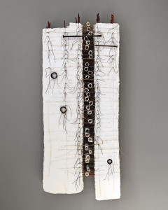 Ilse Bolle, Behold, mixed media, 50 x 21 x 5.