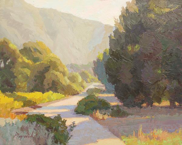 Camille Przewodek, Laguna Canyon Pathway, oil, 16 x 20.