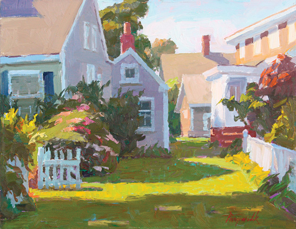 Camille Przewodek, Provincetown, Gateway to Light, oil, 11 x 14.